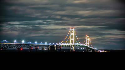 Photograph - The Mighty Mack At Night by Onyonet  Photo Studios