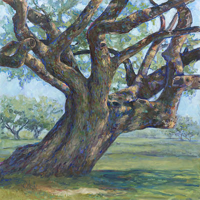 Large Format Painting - The Mighty Oak by Billie Colson