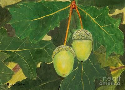 Painting - The Mighty Oak by Billinda Brandli DeVillez
