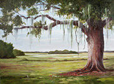 Painting - The Mighty Oak by Glenda Cason