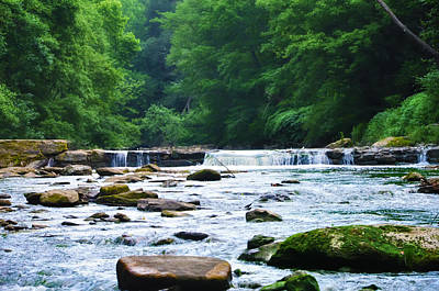 Chestnut Hill Photograph - The Mighty Wissahickon by Bill Cannon