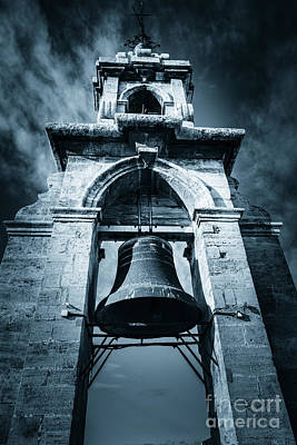 The Miguelete Bell Tower Valencia Spain Art Print
