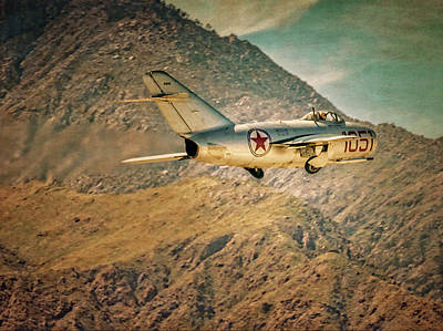 Photograph - The Mikoyan-gurevich Mig15 by Sandra Selle Rodriguez