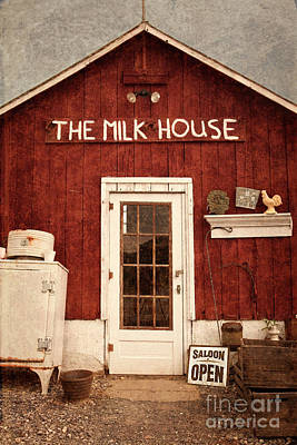 Photograph - The Milk House by John Stephens