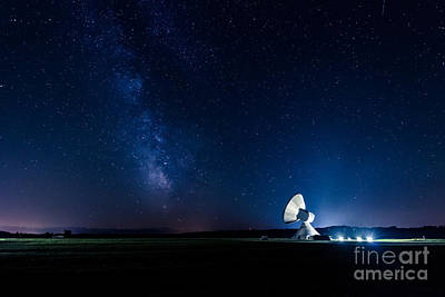 Technical Photograph - The Milky Way Above Bavaria by Hannes Cmarits