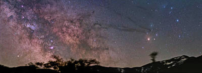 Photograph - The Milky Way Core by Alex Conu