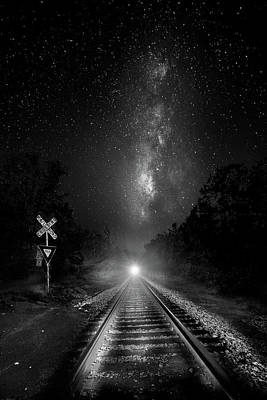 Photograph - The Milky Way Express by Mark Andrew Thomas