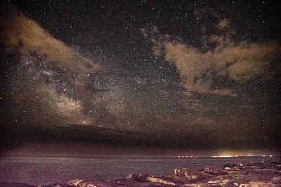 Photograph - The Milky Way  by John Repoza