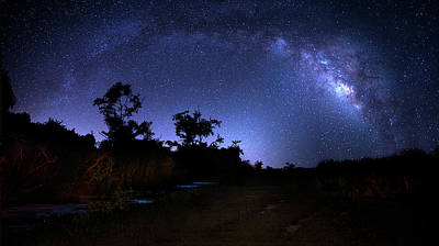 Photograph - The Milky Way Trail by Mark Andrew Thomas