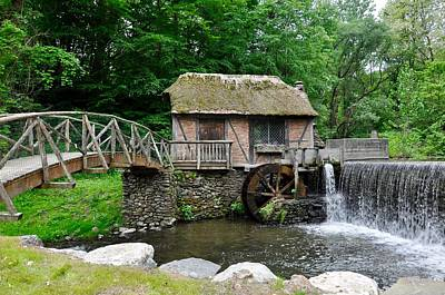 Photograph - The Mill At Gomez Mill House by Cornelia DeDona