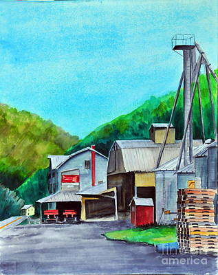 Painting - The Mill At Shade Gap II by John W Walker