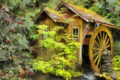 Photograph - The Mill by Eva Lechner