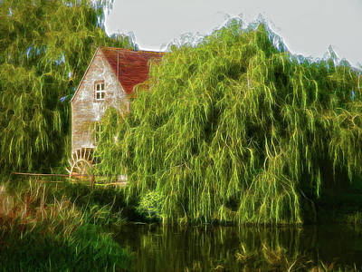 Photograph - The Mill by Ron Harpham