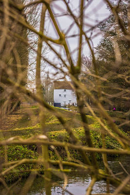 Photograph - The Mill Through The Branches by David Warrington