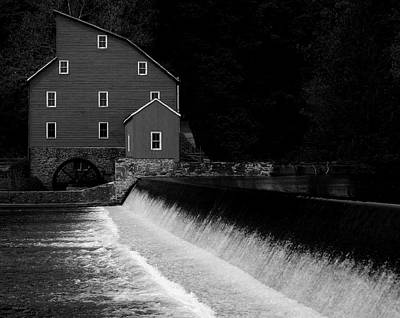 Photograph - The Mill by Val Arie