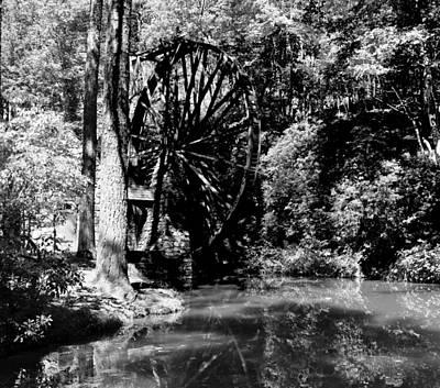 The Mill Wheel Art Print