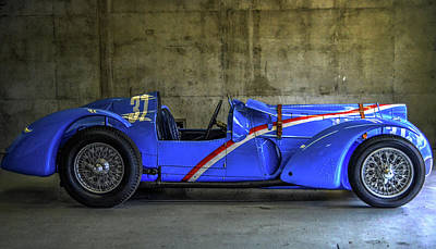 Indy Car Photograph - The Million Franc Car by Josh Williams