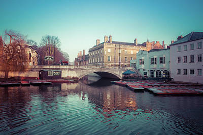 Photograph - The Millpond Cambridge by David Warrington