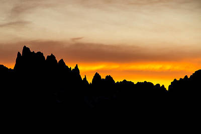 Photograph - The Minarets At Sunset by Phil Stone