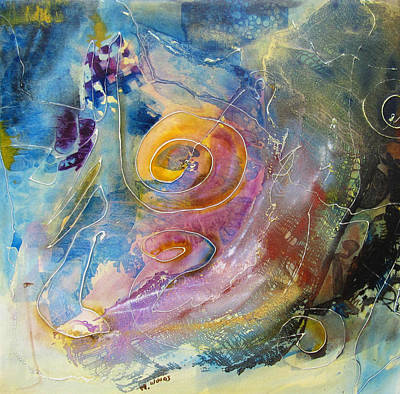 Painting - The Mind Of An Artist by Marilyn Woods