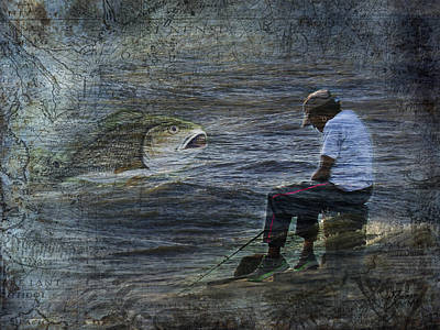 Photograph - The Mind On Fishing by Jim Ziemer