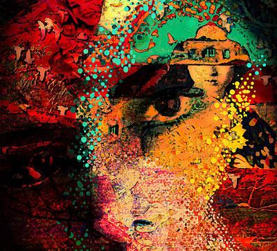 The Mind's Eye Art Print by Jeff Burgess