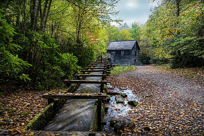 Art Print featuring the photograph The Mingus Mill by David Morefield