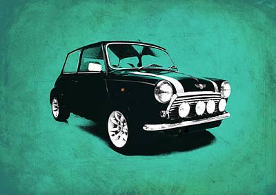 The Mini Cooper Art Print