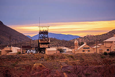 Photograph - The Mining Ghost Town Bisbee Arizona by Toby McGuire