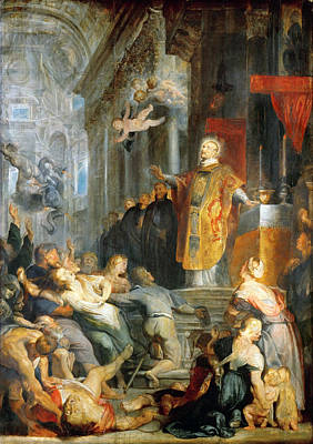 Loyola Painting - The Miracles Of Saint Ignatius Of Loyola by Peter Paul Rubens