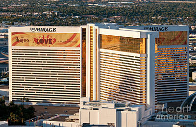 Mirage Photograph - The Mirage Hotel by Andy Smy