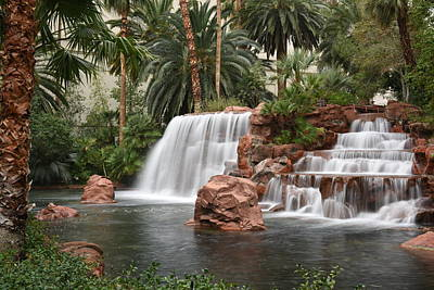 Photograph - The Mirage Las Vegas by Dung Ma