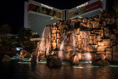 Print featuring the photograph The Mirage by Ryan Photography