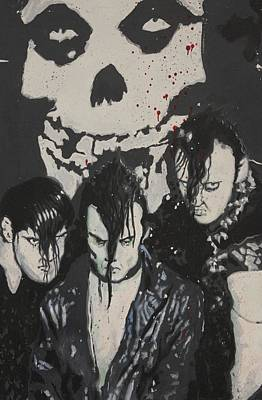 Spagnola Mixed Media - The Misfits by Dustin Spagnola