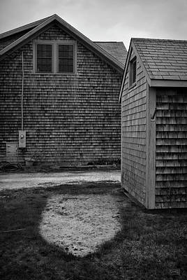 Photograph - The Missing Boat Bw by David Gordon