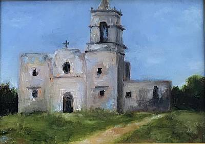 Painting - The Mission by Cheryl Green