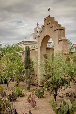 Photograph - The Mission Garden by Teresa Wilson
