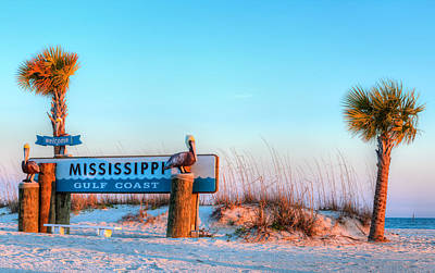 Photograph - The Mississippi Gulf Coast by JC Findley