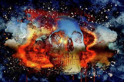 Digital Art - The Mist Of Death by Michael Damiani