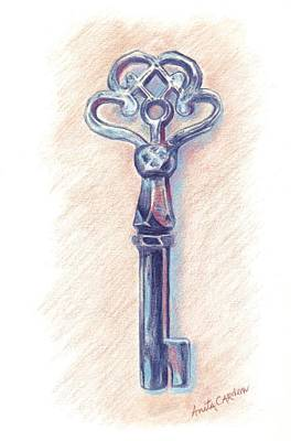 Painting - The Mistress' Key by Anita Carden