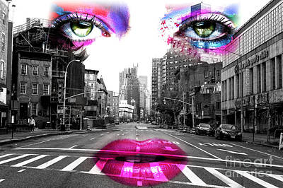 Photograph - The Mistress Of 7th Avenue by John Rizzuto