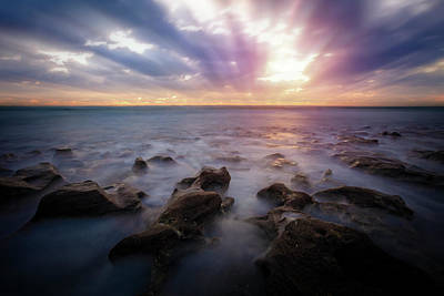 Photograph - The Misty Sea by Debra and Dave Vanderlaan