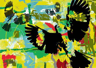 Mockingbird Digital Art - The Mockingbird Wars by DG Daniels