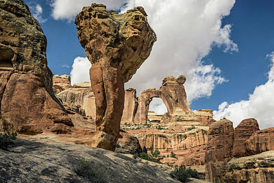 Photograph - The Molar And Angel Arch 2 by Whit Richardson