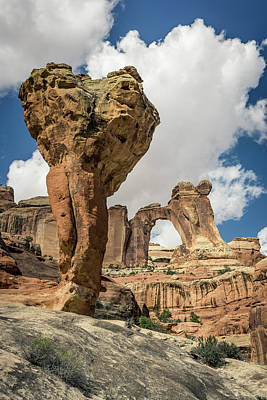 The Molar And Angel Arch Art Print