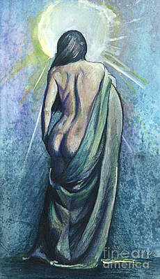 Impressionism Mixed Media - The Moment of Enlightenment by Michael Volpicelli