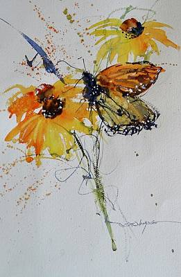 Painting - The Monarch by Sandra Strohschein