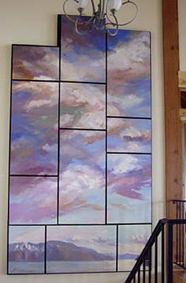 Betty Billups Wall Art - Painting - The Monarchs by Betty Jean Billups