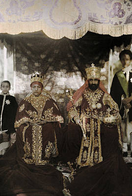 Vintage Camera Photograph - The Monarchs Haile Selassie The First by W. Robert Moore
