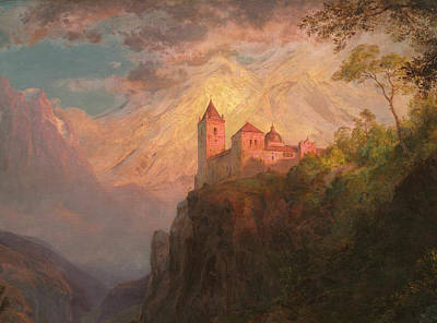 Monastery Painting - The Monastery Of San Pedro, Our Lady Of The Snows by Frederic Edwin Church